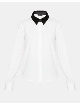 Stretch Cotton Fancy Shirt by Theory