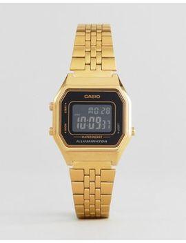 Casio La680 Wega 1 Ber Mini Digital Black Face Watch by Casio