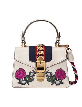 Sylvie Embroidered Mini Bag by Gucci