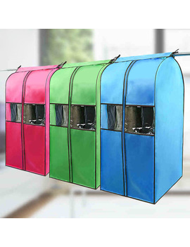 High Quality Cloth Hanging Suit Coat Dust Cover Protector Wardrobe Storage Bag by Fu Winet Store