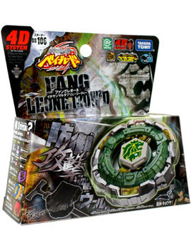 Takara Tomy / Hasbro Fang Leone 130 W2 D Metal Fury Beyblade Bb 106   Usa Seller! by Takara