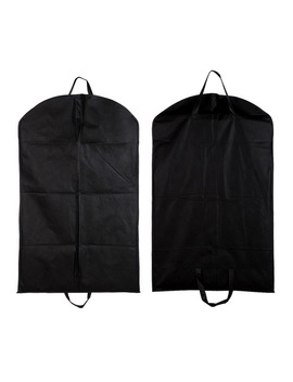 1pc Black Dustproof Hanger Cover Storage Bags Coat Clothes Garment Suit Dust Cover Dust Bags Storage Protector Organization by Topicnet