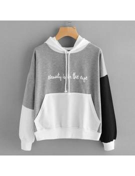 Womens Unicorn Print Long Sleeve Hoodie Sweatshirt Jumper Hooded Pullover Tops by Unbranded