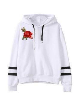 New Women Long Sleeve Hoodie Sweatshirt Jumper Hooded Pullover Shirt Tops Blouse by Unbranded