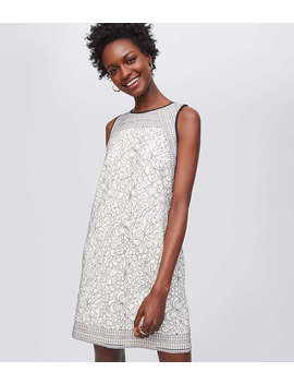 Shadow Floral Lace Dress by Loft