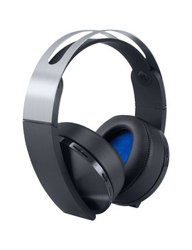 Play Station 4 Platinum Wireless Headset (Black &Amp; Silver) by Sony