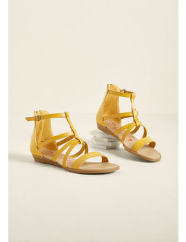 Put To Walk Sandal In Mustard Put To Walk Sandal In Mustard by Blowfish