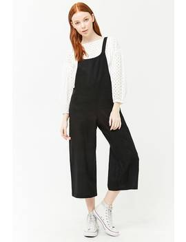 Linen Wide Leg Jumpsuit by Forever 21