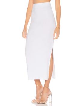 High Waisted Midi Skirt by Stateside