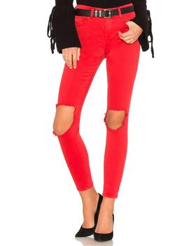 Better Off Red Jean by Blanknyc