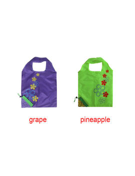 Fruit Grape Reusable Shopping Bags Nylon Grocery Tote Bags Lot Folding New by Unbranded