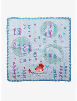 Studio Ghibli Ponyo Wash Cloth by Hot Topic