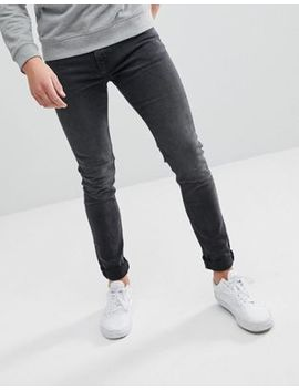Weekday Form Trotter Black Cut Super Skinny Jeans by Weekday