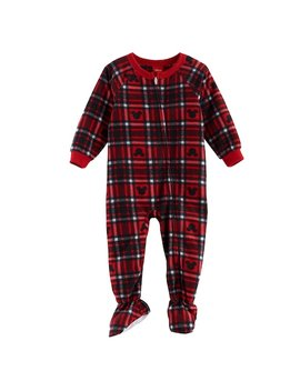 Disney's Mickey Mouse Baby Plaid Microfleece Footed Pajamas By Jammies For Your Families by Kohl's