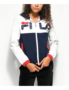 Fila Selma Red, White & Blue Windbreaker Jacket by Fila