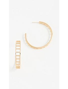 Climber Hoop Earrings by Shashi