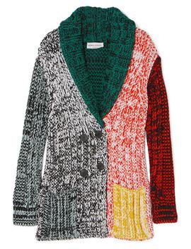 Crochet Knit Cardigan by Sonia Rykiel