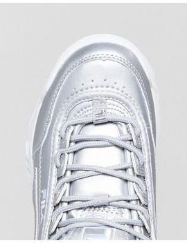 Fila Disruptor Sneakers In Silver by Fila