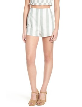 Poetic Stripe Shorts by The Fifth Label