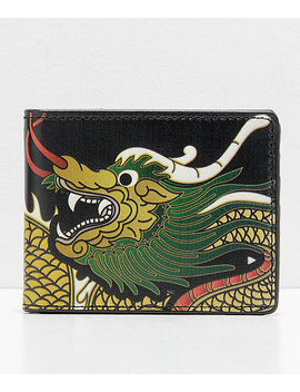 Buckle Down Dragon Black Bifold Wallet by Buckle Down