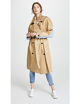 Combo Trench Coat by Push Button