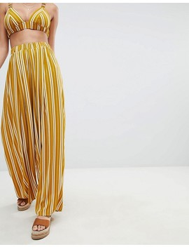 Pretty Little Thing Striped Bralette & Pants Co Ord by Asos Brand