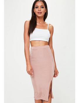Petite White Basic Jersey Cropped Top by Missguided