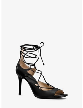 Valerie Leather Sandal by Michael Kors Collection