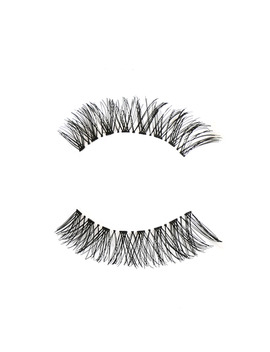 5 Pairs Women Black Cross False Eyelashes Soft Long Makeup Eye Lashes Extension Tools by Ali Express