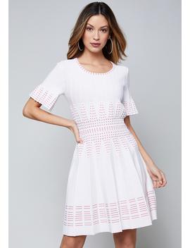 3/4 Sleeve Sweater Dress by Bebe