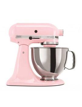 Kitchen Aid Mixer Machine Artisan Series Stand 5 Qt Beater Pink Dough 10 Speeds by Ebay Seller