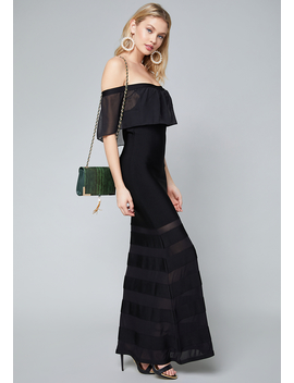 Coletta Bandage Gown by Bebe