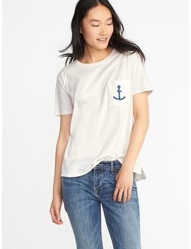 Boyfriend Graphic Tee For Women by Old Navy