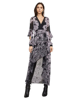 Kat High Low Wrap Dress by Bcbgmaxazria