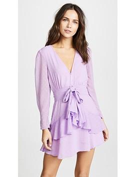 Tarta Long Sleeve Mini Dress by For Love &Amp; Lemons