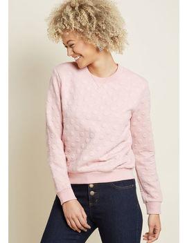 Louche One For Good Texture Sweatshirt Louche One For Good Texture Sweatshirt by Louche
