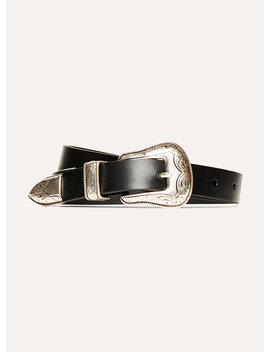 "<Span Class=""Pdp Product Name  Name Db""> Skinny Western Belt </Span> by Wilfred Free"
