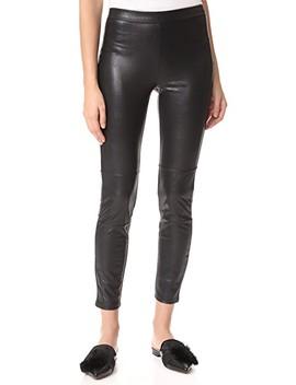 Faux Leather Leggings by Ella Moss