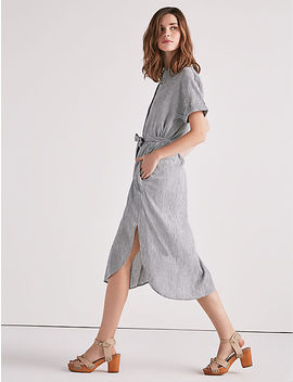 Striped Shirt Dress by Lucky Brand