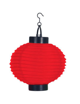 Pure Garden Set Of 4 Solar Outdoor Led Chinese Lanterns by Trademark Home
