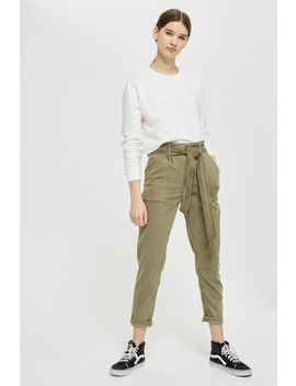 Paperbag Utility Pants by Topshop