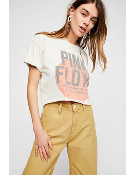 Pink Floyd Crop Tee by Free People