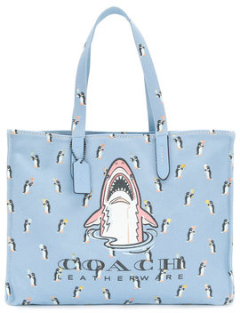 Sharky 42 Tote Bag by Coach