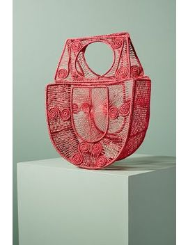Birdcage Basket Bag by Anthropologie