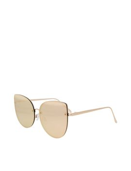 Oversized Kitten Sunglasses by Topshop
