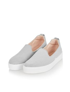 Anaconda Effect Slip On Trainers by Topshop