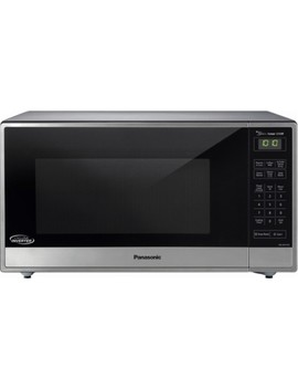 1.6 Cu. Ft. Family Size Microwave   Stainless Steel/Silver by Panasonic