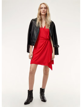 Moto Wrap Dress by Talula