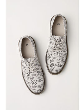 Derbyschuhe Aus Canvas by H&M