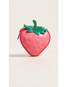 Picnic Perfect 3 D Strawberry Coin Purse by Kate Spade New York